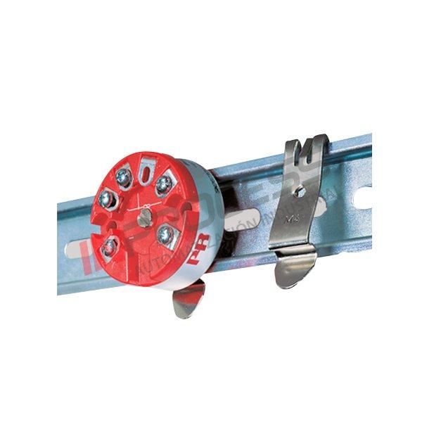 Adaptador Transmisor Cabezal A Riel DIN